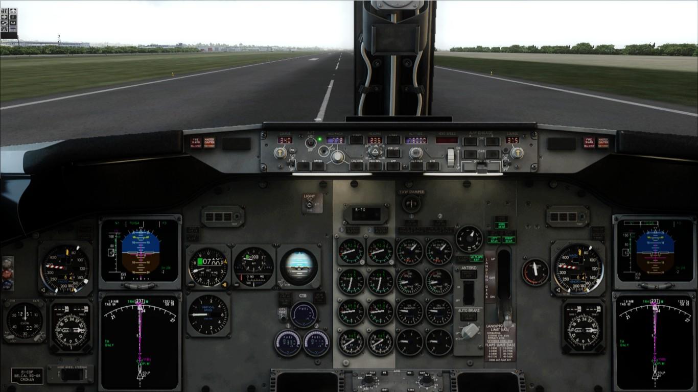 飞机驾驶舱壁纸