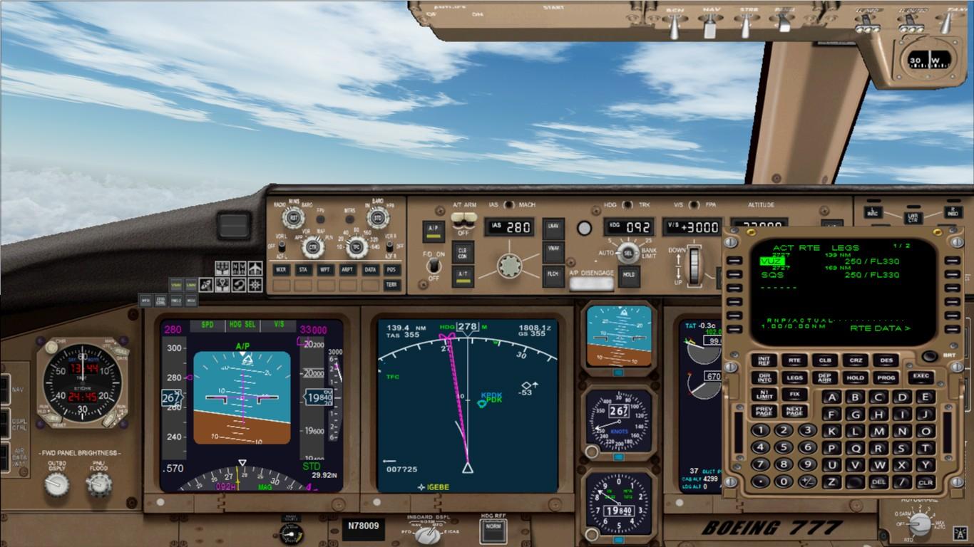 飞机驾驶舱高清壁纸
