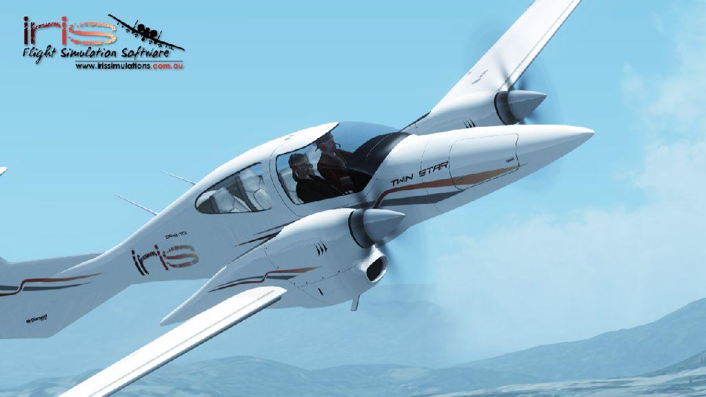 aviator系列 da42飞机