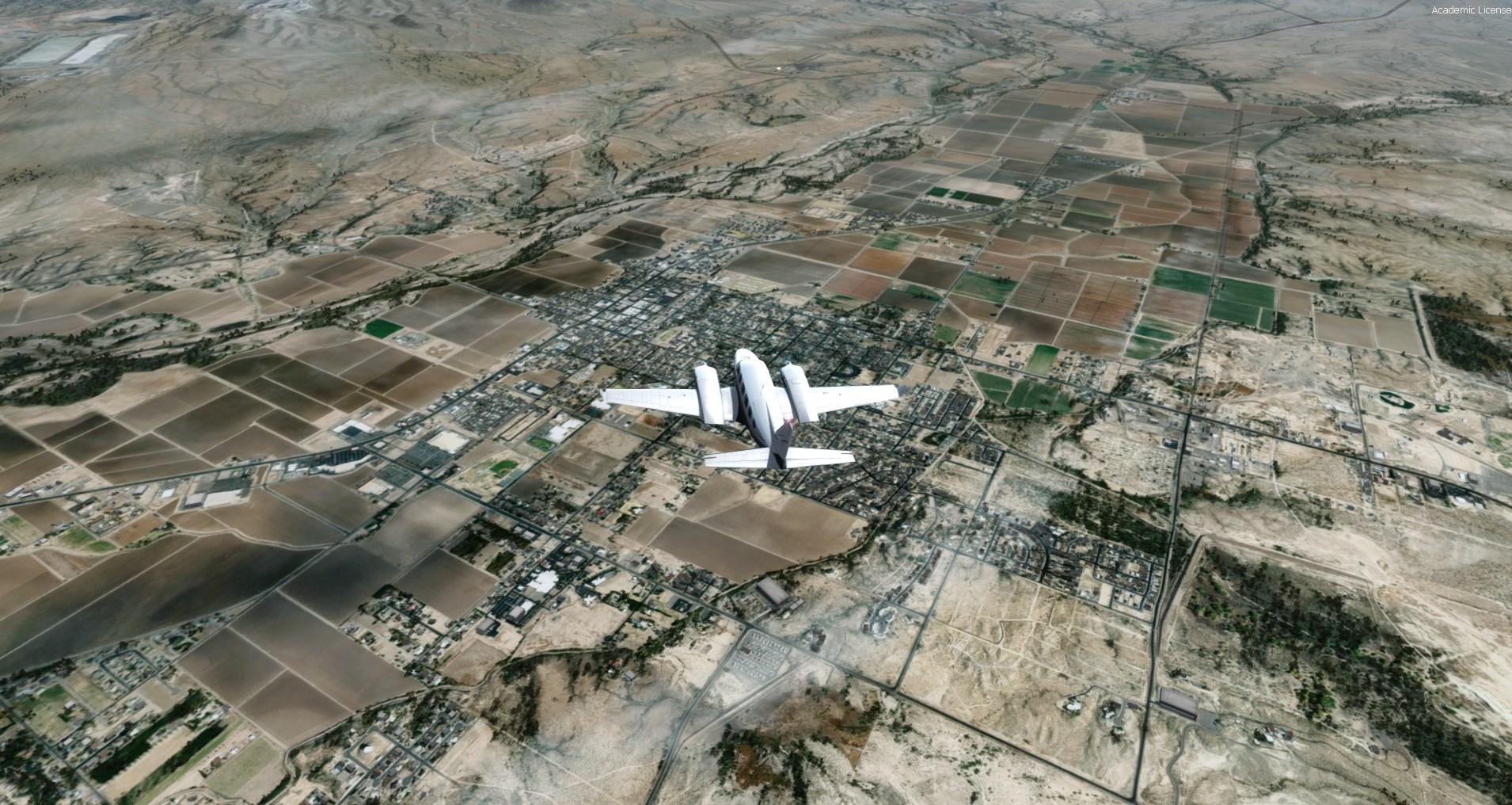 REALWORLDSCENERY – 终极VFR地景: 美国亚利桑那州卷3 FSX P3D