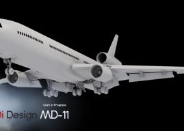 TFDi Design 公布麦道-11开发计划