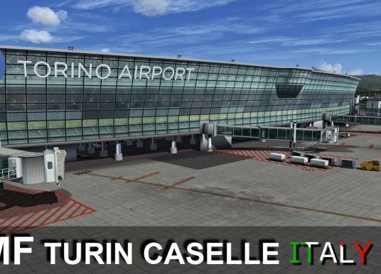 RFSCENERYBUILDING – 意大利-都灵卡塞莱机场 LIMF P3D5