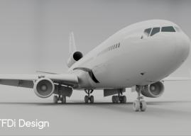 TFDi Design 麦道11 外部模型预览