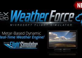 REX 宣布 MSFS实时天气软件 Weather Force