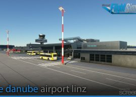 SCREENCODE GMBH – 奥地利-林茨蓝色多瑙河机场 LOWL MSFS