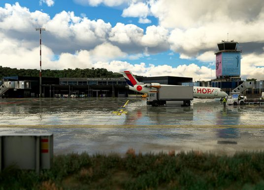 AEROSOFT – TDM SCENERY DESIGN – 西班牙-拉科鲁尼亚机场 LECO MSFS