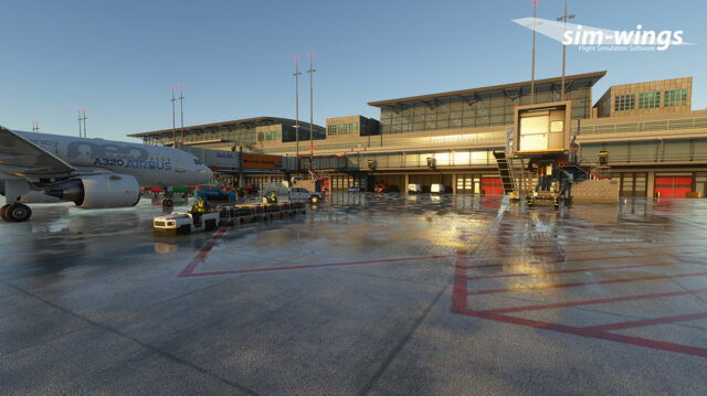 AEROSOFT – SIM-WINGS 德国-汉堡机场 EDDH MSFS
