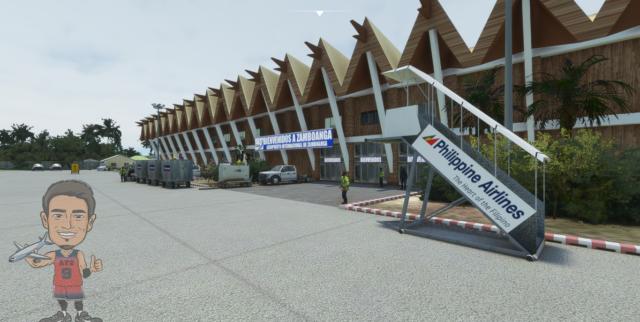 AIRWIL SCENERIES – 菲律宾-三宝颜机场 RPMZ MSFS