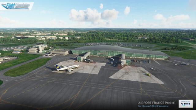 FRANCE VFR – 法国机场合辑1 MSFS
