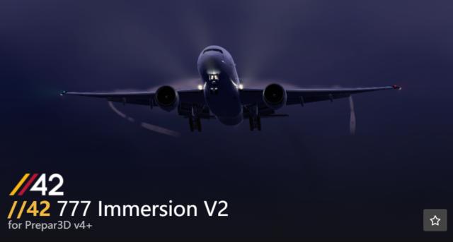 Parallel 42 – 777 Immersion V2 发布