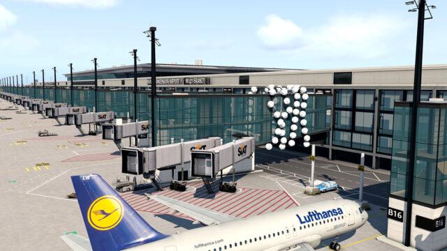 AEROSOFT – 德国-柏林-勃兰登堡机场 EDDB V2 X-PLANE 11