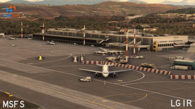 JUSTSIM – 希腊-伊拉克利翁国际机场 LGIR MSFS
