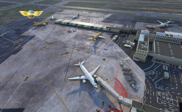 PILOT EXPERIENCE SIM – 法国-波尔多-梅里尼亚克机场 LFBD MSFS