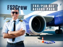 FS2CREW – FSX/P3D ALL ACCESS 副驾驶合辑 PACK