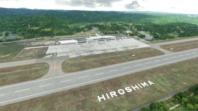 DOUBLE T – 日本-广岛国际机场 RJOA MSFS