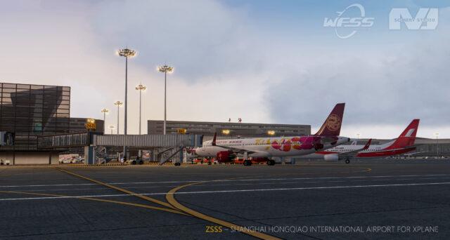 AMJ SCENERY STUDIO – ULTRA CHINA – 上海虹桥国际机场 ZSSS X-PLANE11.5+