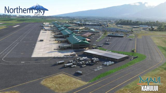 NORTHERN SKY STUDIO – 美国-夏威夷-卡胡卢伊机场 PHOG MSFS