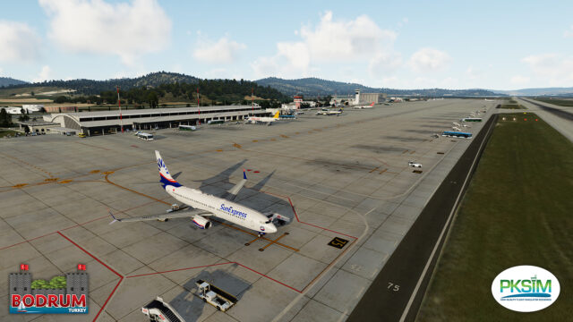 PKSIM – 土耳其-博德鲁姆国际机场 LTFE P3D5