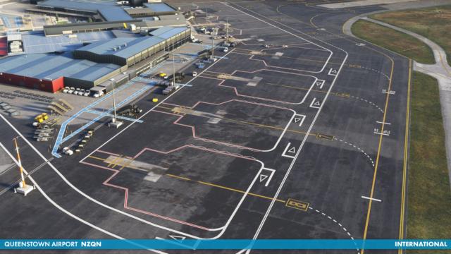 INIBUILDS – INISCENE 新西兰-皇后镇机场 NZQN MSFS