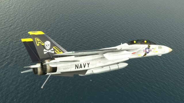 JUSTFLIGHT – DC DESIGNS F-14 A/B 雄猫战斗机 MSFS